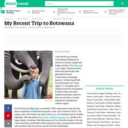 Botswana Travelogue by Anouk Zijlma
