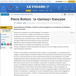 Pierre Bottero: la «fantasy» française