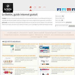 Guide web - Le Bottin
