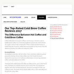Best Bottled Ready To Drink Iced Cold Brew Coffee Review 2017