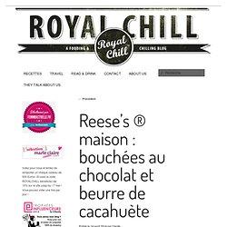 Reese's ® maison : bouchées au chocolat et beurre de cacahuète