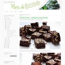 Bouchées crues - sarrasin & cacao [vegan]