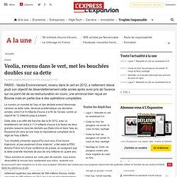 PARIS : Veolia, revenu dans le vert, met les bouchées doubles sur sa dette