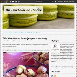 Mini bouchées au Saint-Jacques et au curry