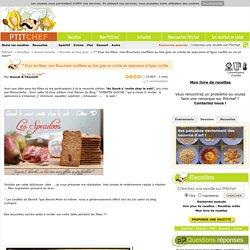 Recette ** Pour les fêtes: mini Bouchées soufflées au foie gras en crôute de spéculoos et figue confite au vin et miel** par Avocat & Chocolat