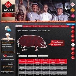 Boucherie Bayle : Porc