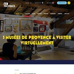 Les musées des Bouches-du-Rhône proposant des visites virtuelles