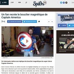Un fan recrée le bouclier magnétique de Captain America