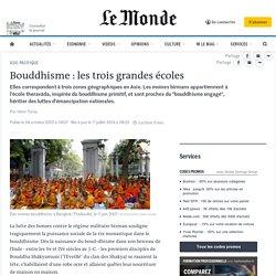 Bouddhisme : les trois grandes écoles