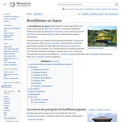 Bouddhisme au Japon