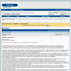 Bouddhisme et psychanalyse - Forum de l'Eveil