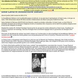 Dalai Lama, bouddhisme tibétain et tolérance religieuse