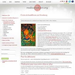 Centre de bouddhisme zen Strasbourg