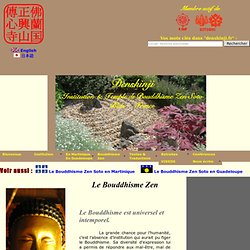 Bouddhisme Zen Soto
