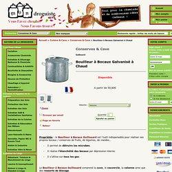 Bouilleur à Bocaux Guillouard, Bouilleur Galvanisé à Chaud - Mon Droguiste