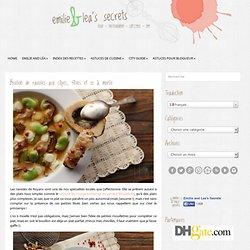 Bouillon de ravioles aux cèpes, fèves et os à moelle - Emilie and Lea's Secrets