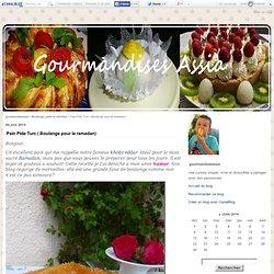 Pain Pide Turc ( Boulange pour la ramadan) - gourmandiseassia
