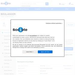 BOULANGER (LESQUIN) Chiffre d'affaires, résultat, bilans sur SOCIETE.COM - 347384570