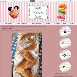 du bon pain comme chez le boulanger ,grâce à ces quelques astuces...