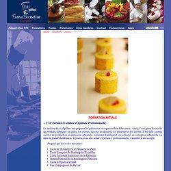 Pâtisserie - France Formation Export, ecoles francaises boulangerie patisserie, cap bp apprentissage