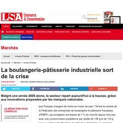 La boulangerie-pâtisserie industrielle sort... - Boulangerie