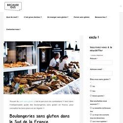 Le guide des boulangeries sans gluten en France ! - Because Gus