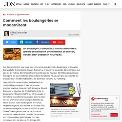 Comment les boulangeries se modernisent