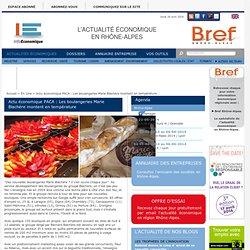 Actu économique PACA : Les boulangeries Marie Blachère montent en température