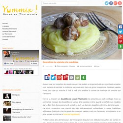 Recette de boulettes de viande Thermomix à la suédoise