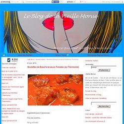 Boulettes de Boeuf à la sauce Tomates (au Thermomix) - Vieille Morue