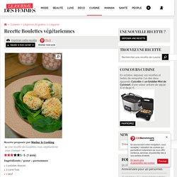 Recette de Boulettes végétariennes
