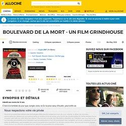 Boulevard de la mort - un film Grindhouse - film 2007