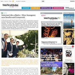 Internet des objets : Nice inaugure son boulevard connecté