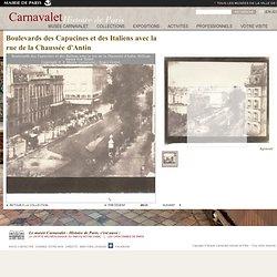 Boulevards des Capucines et des Italiens avec la rue de la Chaussée d'Antin