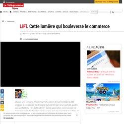 LiFi. Cette lumière qui bouleverse le commerce - Multimedia