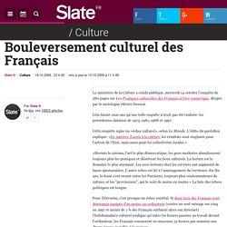 Bouleversement culturel des Français