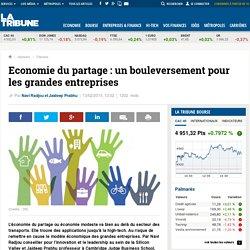 Economie du partage : un bouleversement pour les grandes entreprises