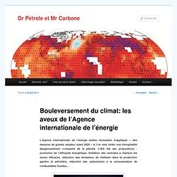 Bouleversement du climat: les aveux de l'Agence internationale de l'énergie