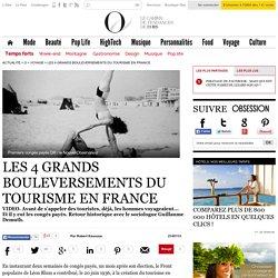 Les 4 grands bouleversements du tourisme en France - 21 juillet 2013 - O - L'Obs