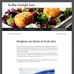 Boulghour aux Epices et Fruits Secs