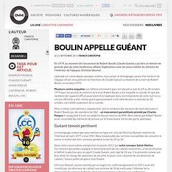 Boulin appelle Guéant