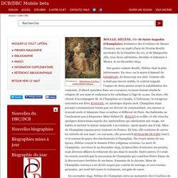 BOULLÉ, HÉLÈNE, dite de Saint-Augustin (Champlain) – Volume I (1000-1700)