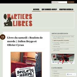 Livre du samedi : Boulots de merde / Julien Brygo et Olivier Cyran