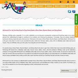 Bounce House Rental Company - All Around Fun Rental
