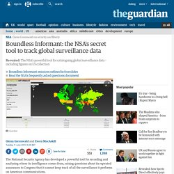 Boundless Informant: the NSA's secret tool to track global surveillance data