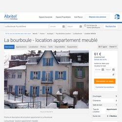 La bourboule - location appartement meublé - Puy-de-Dôme