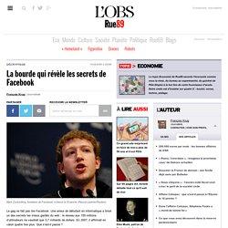 La bourde qui révèle les secrets de Facebook
