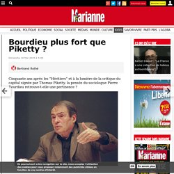 Bourdieu plus fort que Piketty ?