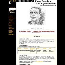 Pierre Bourdieu.