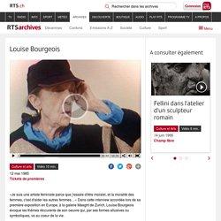 Louise Bourgeois - rts.ch - Tickets de premières